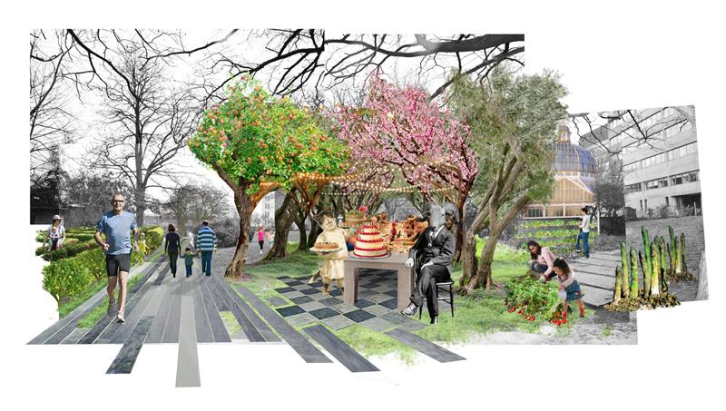 Vauxhall the missing link for Landscape design competition
